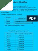 Aula notação científica.pps