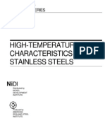 High TemperatureCharacteristicsofStainlessSteel 9004