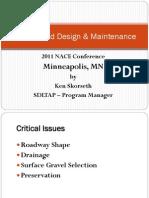Skorseth - Gravel Road Design Track 1 4-18-11