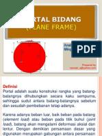 Struktur Portal Bidang