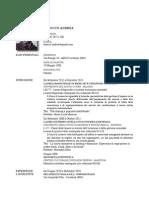 CV Andrea Tarocco