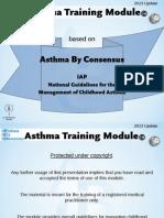 Asthma Training Module - 2013