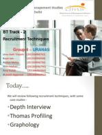 Recruitment Techniques