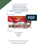 Bab II Wawasan Nusantara e2809cperwujudan Wawasan Nusantara Dalam Kehidupan Berbangsa Dan Bernegara Indonesiae2809d