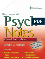 Psych Notes - Clinical Pocket Guide Scanned)