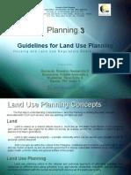 Land Use Planning