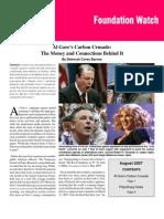 Al Gore's Carbon Crusade