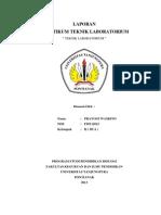 (F05112012) Laporan Praktikum Teknik Laboratorium PRAYOGI WASKITO