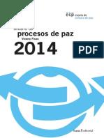 2014 Anuario de Procesos de Paz