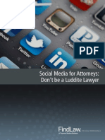 FindLaw Social Media for Attorneys Miniguide