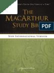 MacArthur Study Bible, NIV