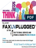 FaxUnplugged Competition Feb 2014
