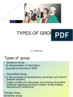 4 Types of Groups