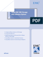 Using EMC VNX Storage with VMware