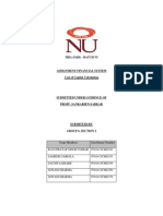 Assignment for FIN MKT_ Cost of Capital Submission