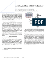 A 3.4dB NF K-band LNA in 65nm CMOS Technology