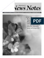 Province News Notes Feb/March 2014