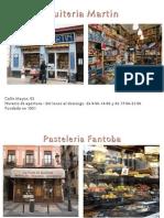 Tiendas Curiosas de Zaragoza