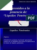 6.- Liquidos Penetrantes. Ing. Juan Leal