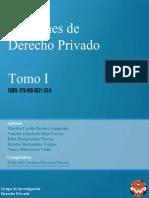 Lecciones de Derecho Privado Tomo I