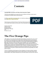 Sir Arthur Conan Doyle - Sherlock Holmes - 07 - The Five Orange Pips
