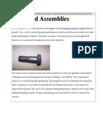 Threaded Assemblies - Hot Dip Galvanizing
