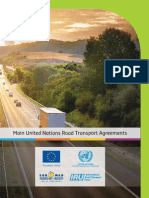 Main United Nations Road Transport Agreements