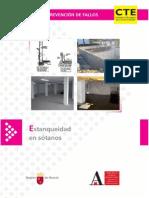 Manual de prevención de fallos- Estanqueidad en sótanos