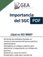 Modulo 1 - Importancia Del SGC