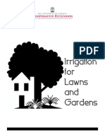 Irrigation for Lawns and Gardens