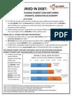 Fact Sheet - Student Debt - Maine