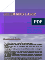 Helium Neon Laser