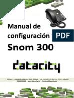 manual de configuración y uso snom 300
