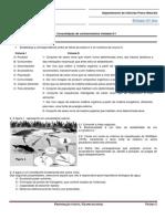 Ficha de trabalho 1 - Consolidação de conhecimentos Unidade 0