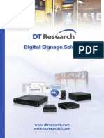 Digital Signage Solution Catalog