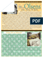 Olsen Newsletter February / March 2014
