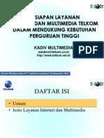 Ppt Kesiapan Multimedia Telkom Mendukung Perguruan Tinggi 06