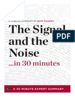 The Signal and the Noise in 30 Minutes