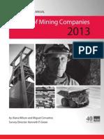 Fraser Institute - Mining Survey 2013 PDF Report
