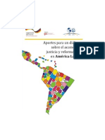 Aportes para un Diálogo sobre el Acceso a la Justicia y Reforma Civil en América Latina