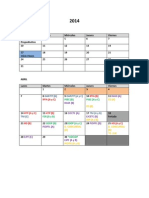 Propuesta Calendario
