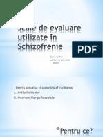 Scale de Evaluare a Schizofreniei