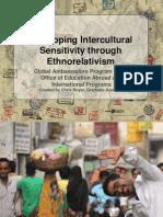 intercultural sensitivity and ethnorelativism presentation
