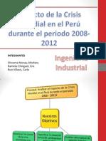 Impacto de La Crisis Mundial en El Peru Durante El Periodo 2008 - 2012 (2)