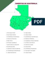 69009017 Division Politica de Guatemala