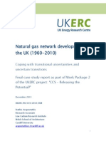 Arapostathis (2011) Natural Gas Network Development in the UK, 1960 to 2010
