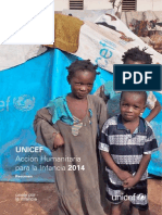 UNICEF Acción Humanitaria para la Infancia 2014