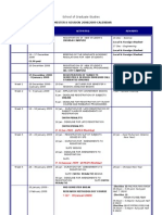 Kalendar UTM semester 2 2009/2010