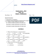 19285Sample Papers Question Paper