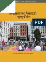 Regenerating Americas Legacy Cities